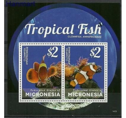 Znaczek Mikronezja 2014 Mi bl 262 Czyste **