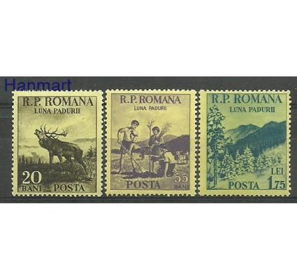 Znaczek Rumunia 1954 Mi 1464-1466 Czyste **