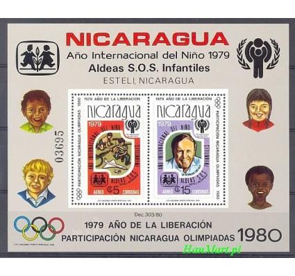Znaczek Nikaragua 1980 Mi bl 110 Czyste **