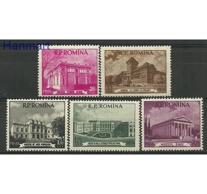 Znaczek Rumunia 1955 Mi 1519-1523 Czyste **