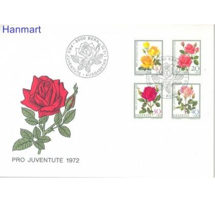 Znaczek Szwajcaria 1972 Mi 984-987 FDC