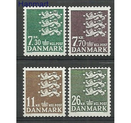 Znaczek Dania 1989 Mi 939-942 Czyste **