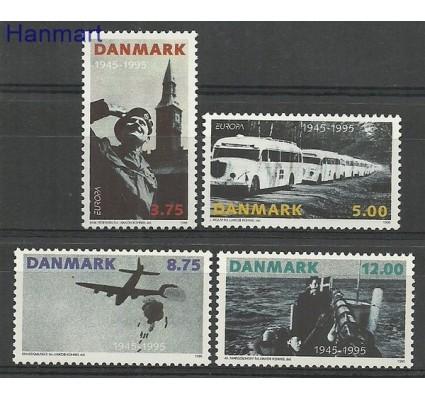 Znaczek Dania 1995 Mi 1100-1103 Czyste **