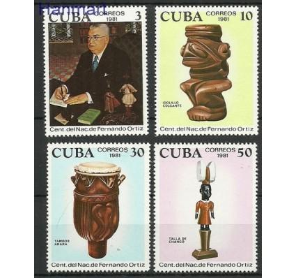 Znaczek Kuba 1981 Mi 2612-2615 Czyste **