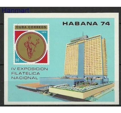 Znaczek Kuba 1974 Mi bl 43 Czyste **