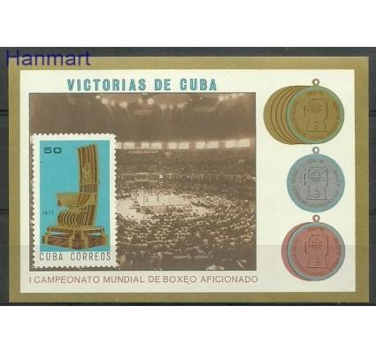 Znaczek Kuba 1975 Mi bl 44 Czyste **