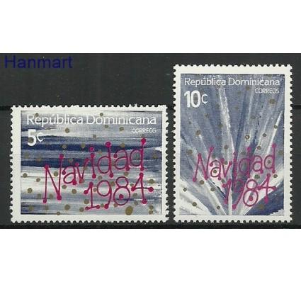 Znaczek Dominikana 1984 Mi 1445-1446 Czyste **