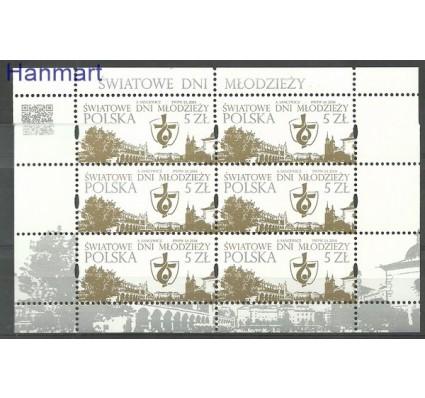 Znaczek Polska 2014 Mi ark 4749 Fi ark 4599 Czyste **