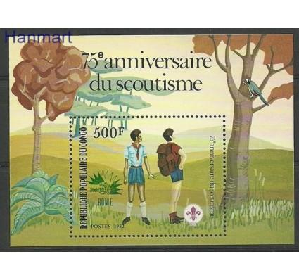 Znaczek Kongo 1982 Mi bl 29 Czyste **