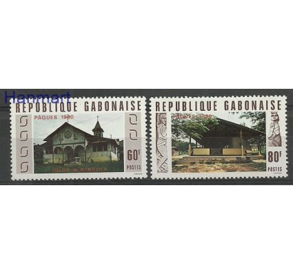 Znaczek Gabon 1980 Mi 724-725 Czyste **