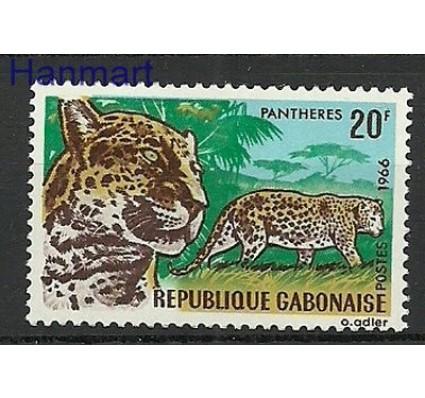 Znaczek Gabon 1967 Mi 265 Czyste **