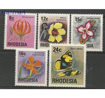 Znaczek Rodezja 1976 Mi 175-179 Czyste **