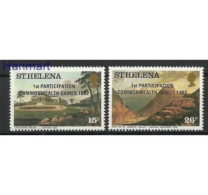 Znaczek Wyspa św. Heleny 1982 Mi 365-366 Czyste **