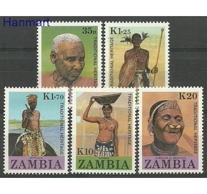 Znaczek Zambia 1987 Mi 433-437 Czyste **