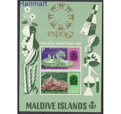 Malediwy 1967 Mi bl 7 Czyste **
