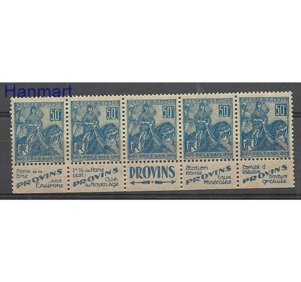 Francja 1929 Mi 237R Czyste **