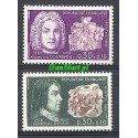 Francja 1968 Mi 1617-1618 Czyste **