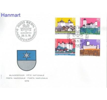 Znaczek Szwajcaria 1976 Mi 1075-1078 FDC