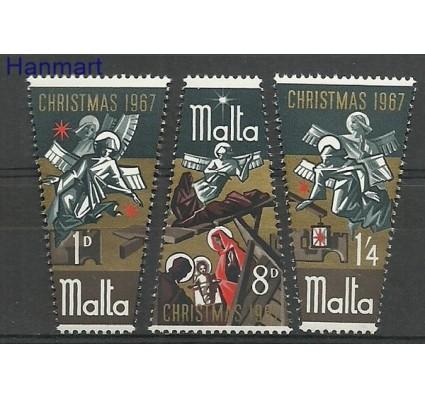 Znaczek Malta 1967 Mi 364-366 Czyste **