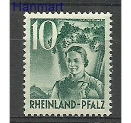 Znaczek Rheinland-Pfalz 1948 Mi 37 Czyste **