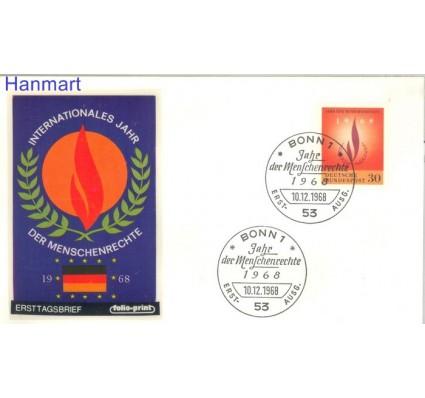 Niemcy 1968 FDC