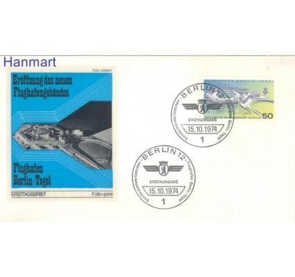 Znaczek Berlin Niemcy 1974 FDC