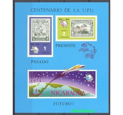 Znaczek Nikaragua 1974 Mi bl 81I Czyste **