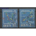 Estonia 1994 Mi 221-222 Stemplowane
