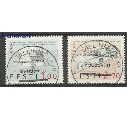 Znaczek Estonia 1994 Mi 233-234 Stemplowane