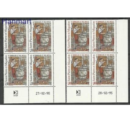 Znaczek Saint-Pierre i Miquelon 1995 Mi 690-691 Czyste **