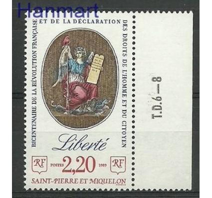 Znaczek Saint-Pierre i Miquelon 1989 Mi zf 571 Czyste **