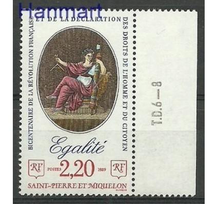 Znaczek Saint-Pierre i Miquelon 1989 Mi zf 572 Czyste **