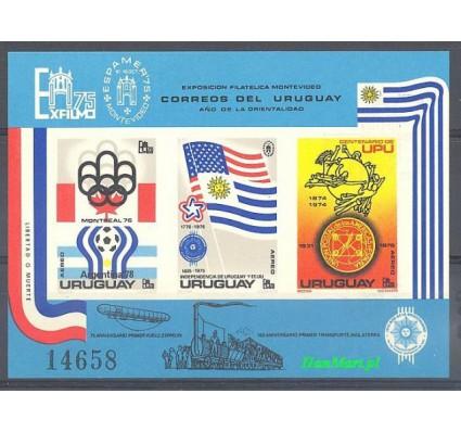 Znaczek Urugwaj 1975 Mi gedbl 28 Czyste **