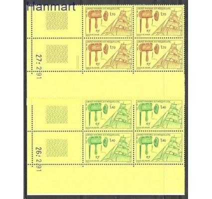 Znaczek Saint-Pierre i Miquelon 1991 Mi zf 609-610 Czyste **