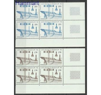 Znaczek Saint-Pierre i Miquelon 1992 Mi zf 636-637 Czyste **