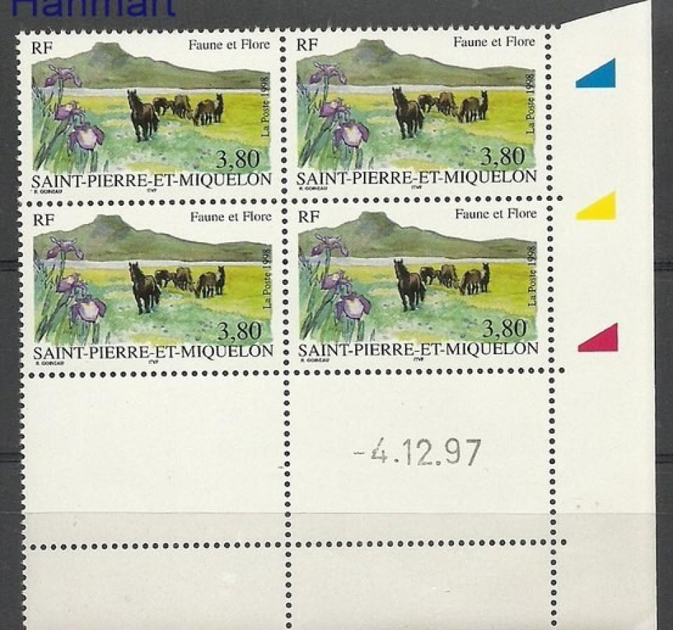 Saint-Pierre i Miquelon 1998 Mi zf 753 Czyste **