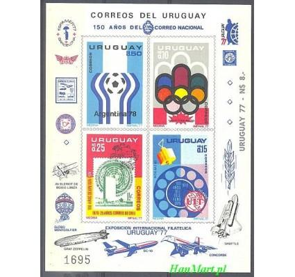 Znaczek Urugwaj 1976 Mi 1402-1405 Czyste **
