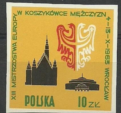 Znaczek Polska 1963 Mi 1424 Fi 1276 Czyste **