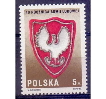 Znaczek Polska 1983 Mi 2897 Fi 2749 Czyste **