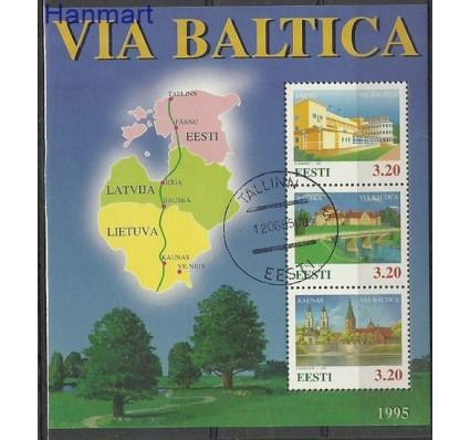 Znaczek Estonia 1995 Mi bl 8 Stemplowane