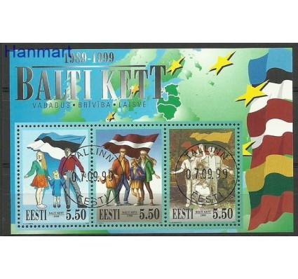 Znaczek Estonia 1999 Mi bl 13 Stemplowane