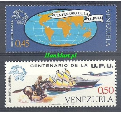 Znaczek Wenezuela 1974 Mi 1988-1989 Inne