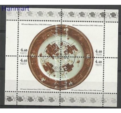 Znaczek Estonia 2002 Mi bl 18 Stemplowane
