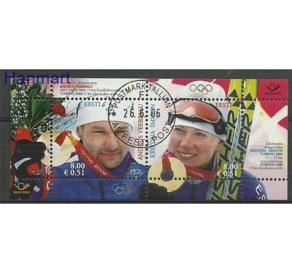 Znaczek Estonia 2006 Mi bl 26 Stemplowane