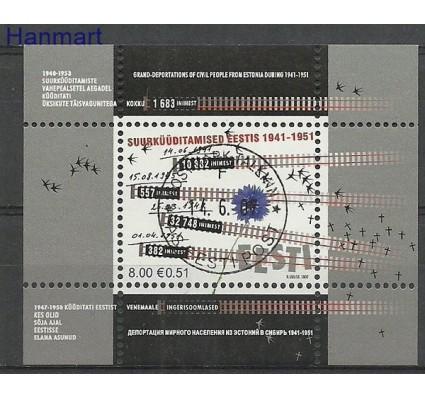 Znaczek Estonia 2007 Mi bl 29 Stemplowane