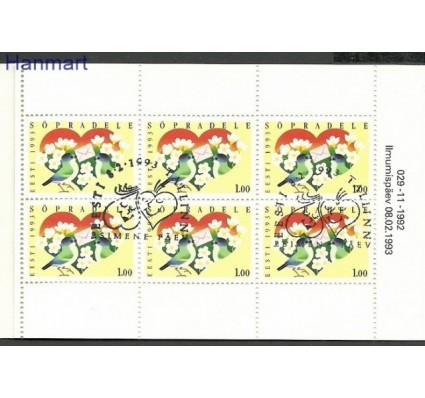 Znaczek Estonia 1992 Mi mh 199 Stemplowane