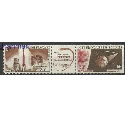 Znaczek Somali Francuskie 1966 Mi 371-372 Czyste **