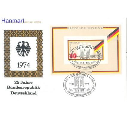 Znaczek Niemcy 1974 FDC