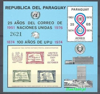 Znaczek Paragwaj 1976 Mi bl 283 Czyste **
