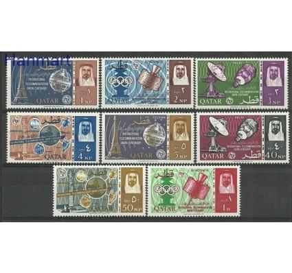 Znaczek Katar 1965 Mi 64-71 Czyste **